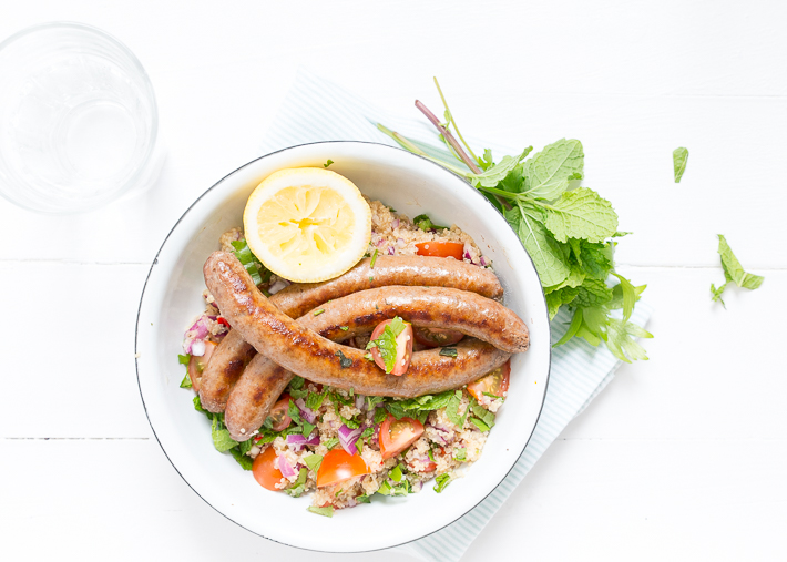Fresh & easy: quinoa tabouleh