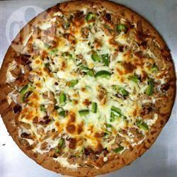 Tonijn pizza recept