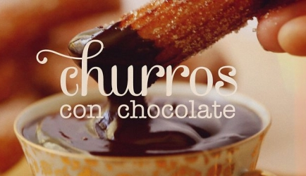 Churros con chocolate recept
