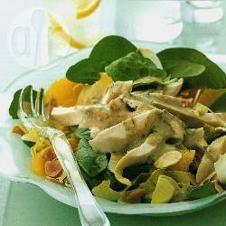 Kip-dragonsalade recept