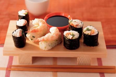 Sushirolletjes met tonijn