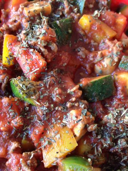 Bolognese saus met lekker veel groente recept