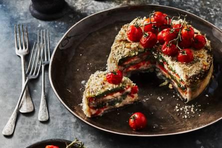 Groentetaart recept - Zoals mediterrane ...