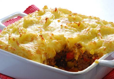 recept ovenschotel aardappelpuree