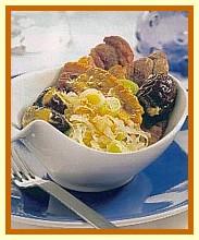 Zuurkool met speklapjes, pruimen en prei recept