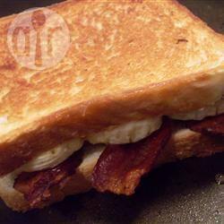 Elvis sandwich recept