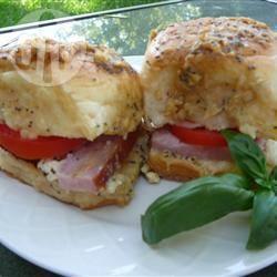 Warme ham-kaasbroodjes recept