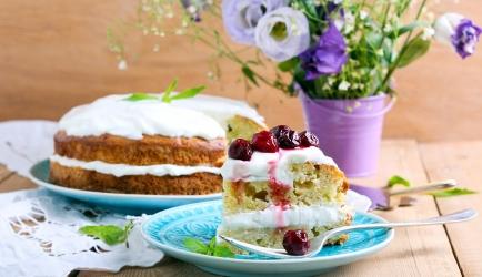 Basisrecept victoria-sandwichcake (18 cm met 2 lagen) recept ...