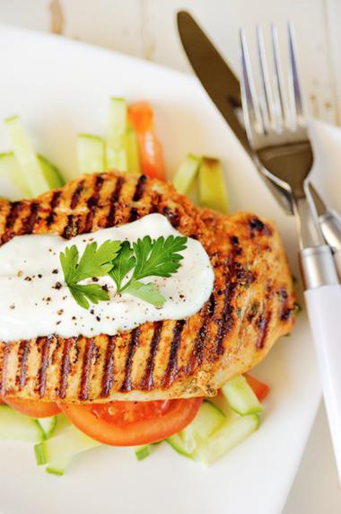 Recept 'indiase kipfilet met yoghurt'