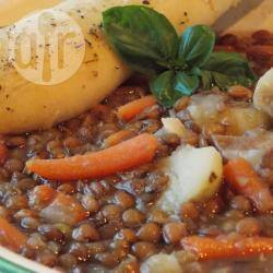 Makkelijke linzensoep recept