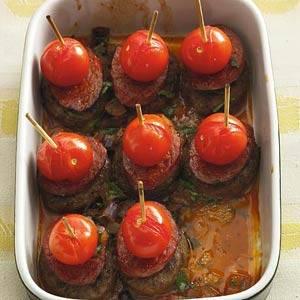 Spaanse tapas-burgertjes uit de oven recept