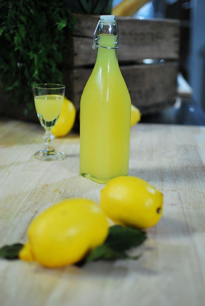 Recept 'limoncello'