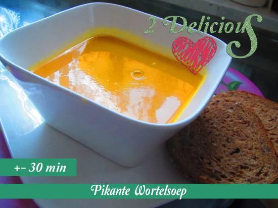 Pikante wortelsoep recept