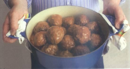 Magere gehaktballen nederlandse stijl recept