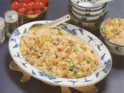 Chinees gebakken rijst recept