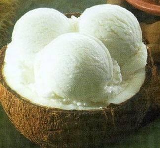 Kokos-ijs recept