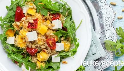Quinoa salade met mango recept