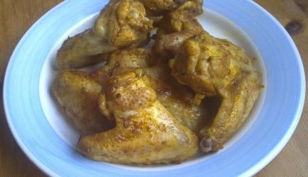 Kippenvleugeltjes uit de oven. recept