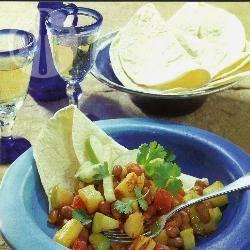 Mexicaanse bonen met fruit recept