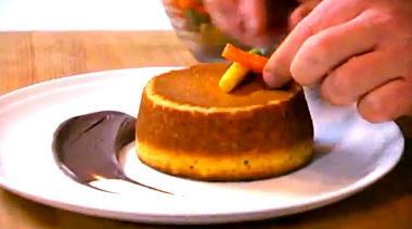 Recept 'wortelcake met smeuïge chocoladepasta'