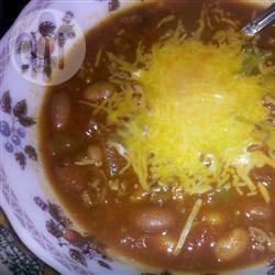 Chili met kalkoengehakt recept