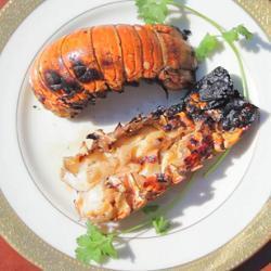 Kreeftenstaart van de barbecue recept