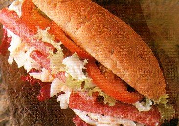 Sandwich met salami recept