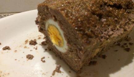 Koolhydraatarm gehaktbrood met eieren (dukan of atkins dieet ...