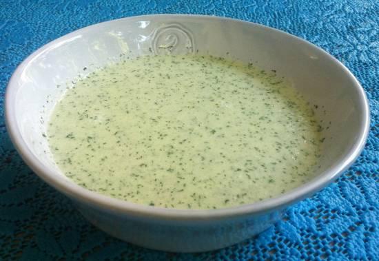 Lekkere koude komkommersoep recept