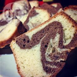 Chocolade-marmercake recept