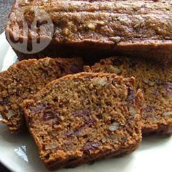 Cake met dadels en noten recept