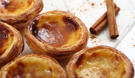 Pastéis de nata: portugese 'taartjes van room'... recept