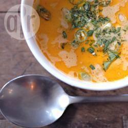 Glutenvrije thaise kippensoep recept