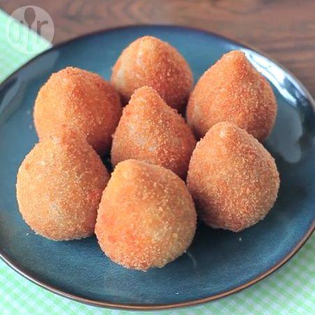 Coxinhas (braziliaanse kip kroketjes) recept
