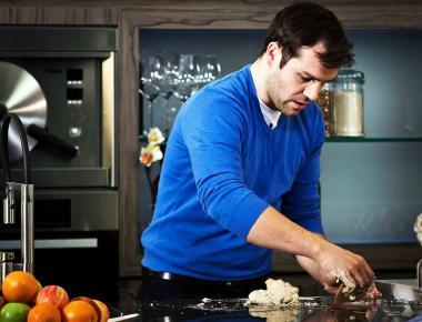 Recept 'feestcroque met gedroogde ham en truffel'