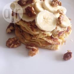 Heerlijke gezonde bananenpannenkoekjes recept