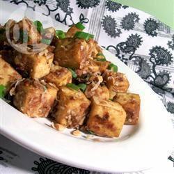 Ongelooflijk simpele thaise tofu recept