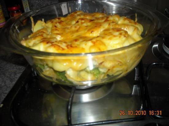 Ovenschotel broccoli met kipfilet en aardappelschijfjes recept ...