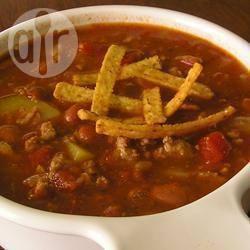 Chili con carne met kalkoen recept