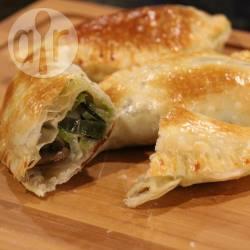 Empanadas met prei, champignons en kaas recept