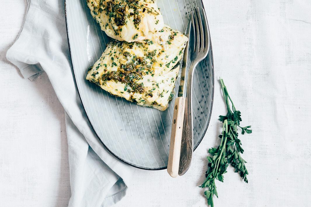 Skrei ((kabeljauw) met chermoula