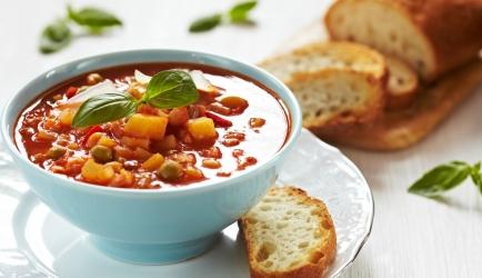 Winter minestrone recept