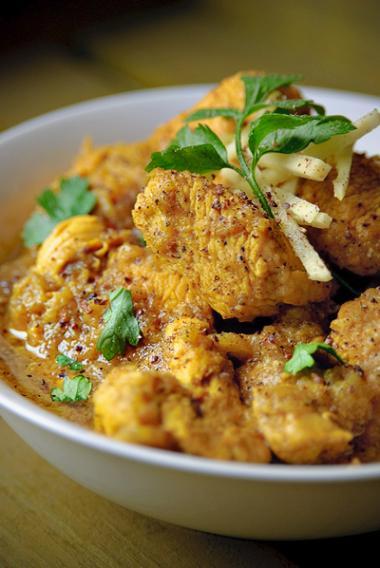 Recept 'pittige kip met peper'