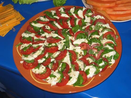 Insalata caprese  mozzarella-tomaatsalade recept