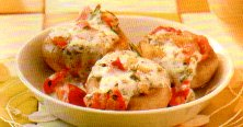 Mascarpone-gevulde champignons recept