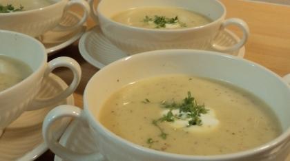 Culinaire mosterdsoep met gembersiroop recept