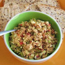 Tonijnsalade voor op brood recept