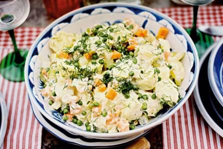 Frisse aardappelsalade