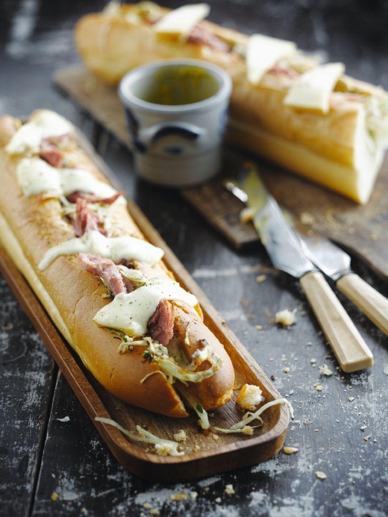 Recept 'broodje ham & kool'