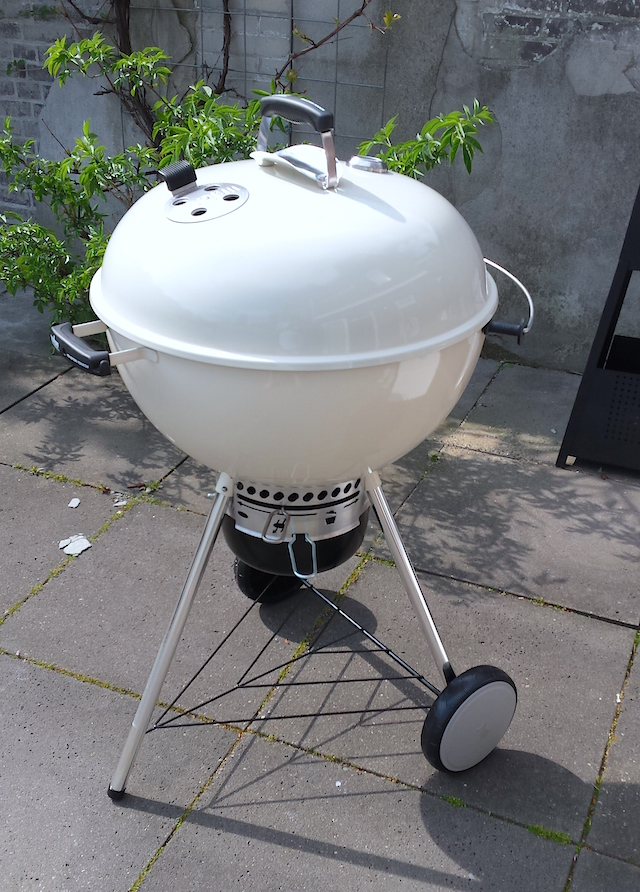 Review weber master touch